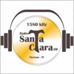 Logo da emissora R�dio Santa Clara 1580 AM
