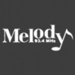 Logo da emissora Radio Melody 93.4 FM