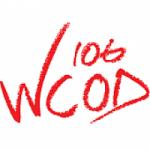 Logo da emissora Radio WCOD 106.1 FM