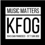 Logo da emissora Radio KFOG 104.5 FM