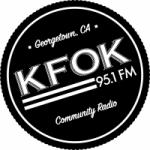 Logo da emissora Radio KFOK 95.1 FM