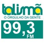 Logo da emissora R�dio Talism� 99.3 FM