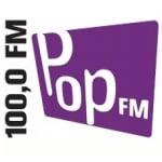 Logo da emissora Radio Pop FM 100 FM