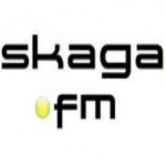Logo da emissora Radio Skaga 105.6 FM