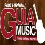 Logo da emissora Rádio Guia Music