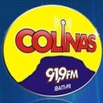 Logo da emissora Rádio Colinas 91.9 FM
