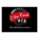Logo da emissora Radio City Rock 97.5 FM