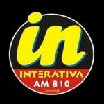 Logo da emissora Rádio Interativa 810 AM