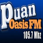 Logo da emissora Radio Oasis 105.7 FM