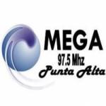 Logo da emissora Radio Mega 97.5 FM
