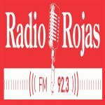 Logo da emissora Radio Rojas 92.3 FM