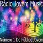 Logo da emissora R�dio Jovem Music