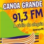 Logo da emissora R�dio Canoa Grande 91.3 FM