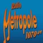 Logo da emissora R�dio Metr�pole 1070 AM
