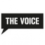 Logo da emissora Radio The Voice 104.6 FM