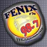 Logo da emissora Rádio Fênix 98.7 FM