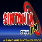 Logo da emissora R�dio Sintonia 87.5 FM
