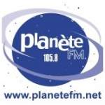 Logo da emissora Planet 105.8 FM