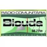 Logo da emissora R�dio Bicuda 98.7 FM