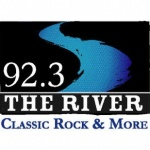 Logo da emissora KRVQ 92.3 FM