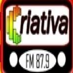 Logo da emissora Rádio Criativa 87.9 FM