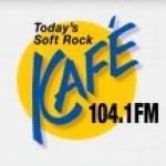 Logo da emissora Radio KAFE 104.3 FM