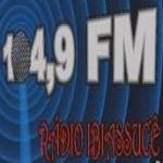 Logo da emissora Rádio Ibiassucê 104.9 FM