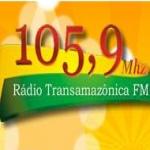 Logo da emissora Rádio Transamazônica 105.9 FM