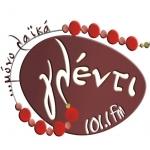 Logo da emissora Radio Glenti 101.1 FM