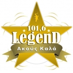 Logo da emissora Radio Legend 101.6 FM