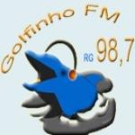 Logo da emissora Rádio Golfinho 98.7 FM
