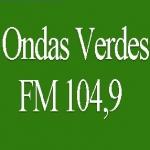 Logo da emissora R�dio Ondas Verdes 104.9 FM