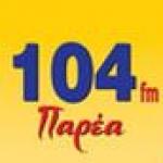 Logo da emissora Radio Parea 104 FM