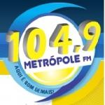 Logo da emissora R�dio Metr�pole 104.9 FM