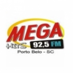 Logo da emissora R�dio Mega Hits 92.5 FM