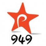 Logo da emissora Radio Rythmos 94.9 FM