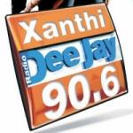 Logo da emissora Radio Xanthi 100 FM