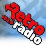 Logo da emissora Retro Radio 103.9 FM