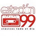 Logo da emissora Radio Estacion 99.9 FM