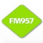 Logo da emissora FM957