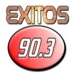 Logo da emissora Radio Exitos 90.3 FM