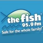 Logo da emissora KFSH 95.9 FM The Fish