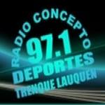 Logo da emissora Radio Concepto 97.1 FM