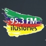 Logo da emissora Radio Ilusiones 95.3 FM