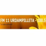 Logo da emissora Radio FM 11 Urdampilleta 100.5 FM
