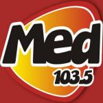 Logo da emissora Radio Med 103.5 FM