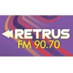 Logo da emissora Radio Retrus 90.7 FM