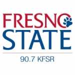 Logo da emissora Radio KFSR 90.7 FM