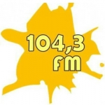 Logo da emissora Fogo Santo FM