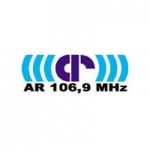 Logo da emissora AR 106.9 (Aukstaitijos Radijas)